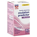 Rite Aid Pharmacy Ovulation Predictor Test Strips, Family Planning, 1 predictor