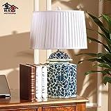 LINA-Lampe-cramique-chinoise-classique-est-simple-et-lgant-retro-porcelaine-crative-des-thires-salle-de-sjour-chambre--coucher-lampes-de-chevet