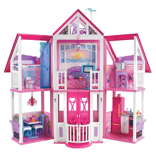 Barbie Malibu Dreamhouse front-632408