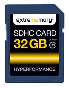 ExtreMemory EXMESDHC32GC10 HyPerformance Carte mémoire SDHC 32 Go