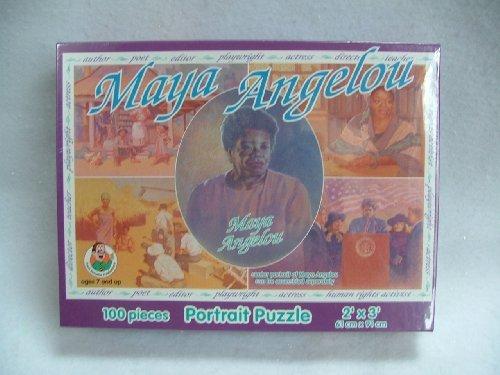 Maya Angelou Portrait Jigsaw Puzzle