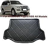 Mitsubishi Pajero V93 Car Boot Pad Carpet Cargo Mat Trunk Liner Tray Floor Mat Car trunk protectors Custom Fit