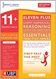 Eleven Plus Exams 11+ Essentials Short Numerical Reasoning (Quick-fire Questions) Book 1 for CEM (First Past the Post)