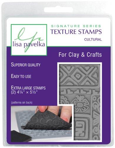 Lisa Pavelka 327067 Texture Stamp Kit Cultural