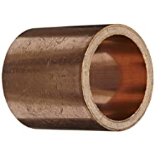 "Bunting Bearings DPEP243032 1 1/2"" Bore x 1 7/8"" OD x 2"" Length Powdered Metal Dri Plane (C) Flange Bearings"
