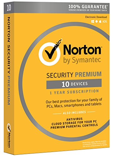Norton Security Premium - 10 Devices [Download Code] (Ios Software compare prices)