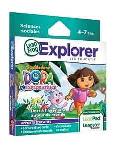 Leapfrog - 89018 - Jeu Educatif Electronique - LeapPad / Leapster Explorer - Jeu - Dora