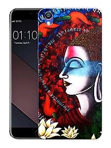 "Buddha ArtPrinted Designer Mobile Back Cover For ""Oppo F1 PLUS"" (3D, Matte, Premium Quality Snap On Case)"