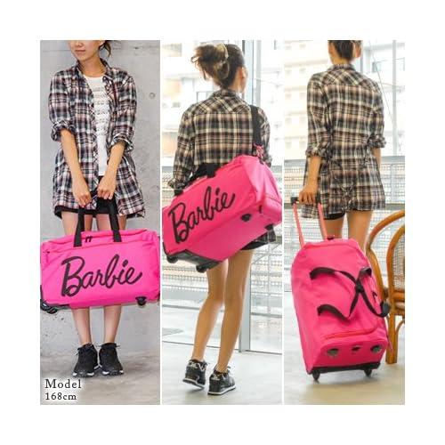 (バービー) Barbie 3wayボストンキャリー(40L) ショルダーバッグ スーツケース [リズラメ] 45928