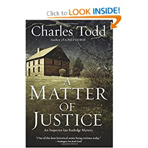A Matter of Justice - Charles Todd
