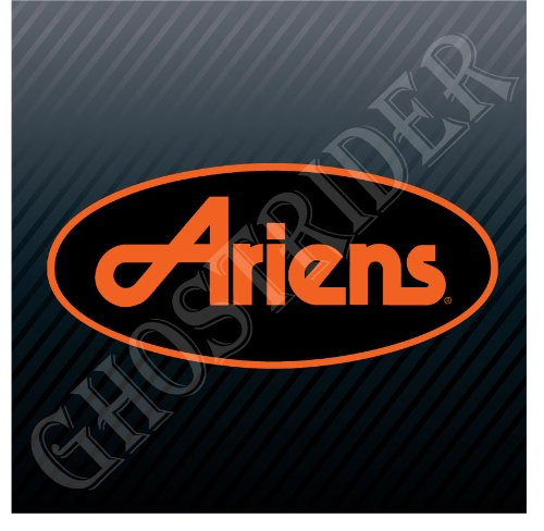 Ariens Snow Blowers Tractor Equipment Vintage Logo Sticker Decal