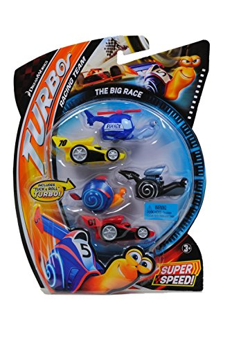 Dreamworks Turbo Movie Moments Shell Racers The Big Race Vehicle