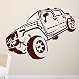 Decal Style Hummer Wall Sticker Small Size-28*21 Inch - B00WSMUMF6