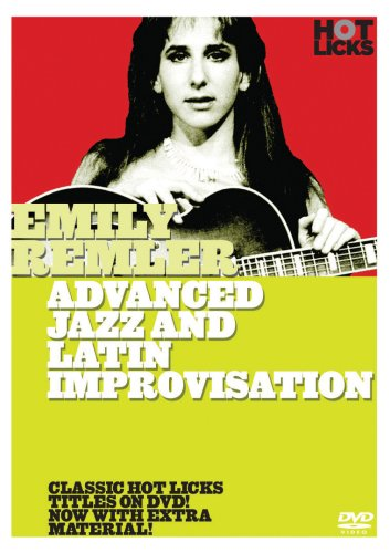 Hot Licks: Emily Remler - Advanced Jazz And Latin Improvisation [DVD] [2008] [Region 1] [NTSC]
