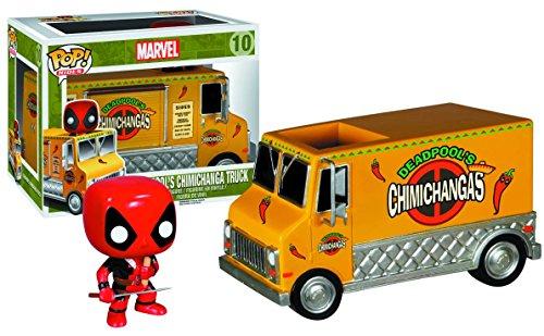 Funko Pop Rides Deadpool's Chimichanga Truck Action Figure