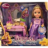 Disney Tangled Rapunzel Toddler Doll with Vanity