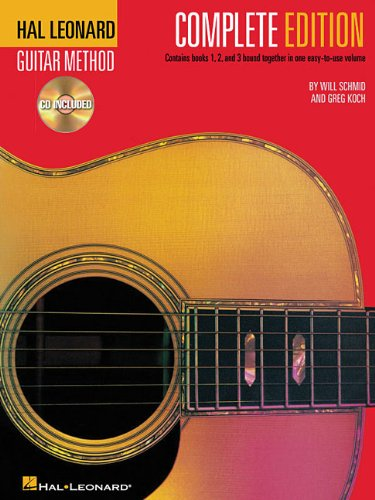 Hal Leonard Guitar Method - Complete Edition: Books 1, 2 and