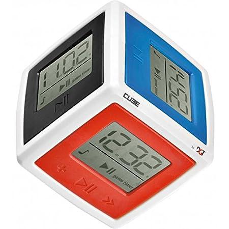 Digital Game Technology BV 10105–DGT Cube Minuteur - Jeu pour 6joueurs, minuteur, jouet d'apprentissage et d'expérimentation