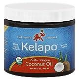 Kelapo Extra Virgin Coconut Oil, 15-Ounce Jar (Tamaño: 15 Ounce)