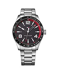 Tommy Hilfiger Sophisticated Analog Display Quartz Silver Mens Watch- TH1791178J