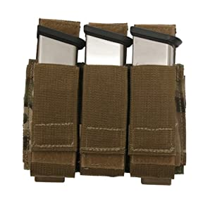 Tactical Tailor Magna Mag Triple Pistol Mag Pouch, Black