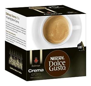Nescafé Dolce Gusto Dallmayr Crema d´Oro, Pack of 3, 3 x 16 Capsules
