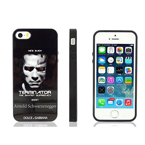 iPhone5/5S ケース 【 DOLCE&GABBANA 】 ドルチェ・アンド・ガッバーナ ピクチャーデザイン ハードケース アーノルドシュワルツェネッガー