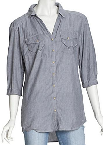 Wrangler Women's Dan Stripe Night Shirt