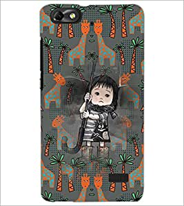 PrintDhaba Cartoon D-3677 Back Case Cover for HUAWEI HONOR 4C (Multi-Coloured)