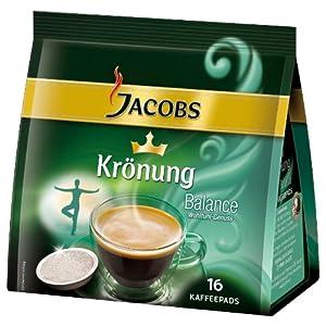 Jacobs Krönung Crema Balance, 16 Coffee Pods