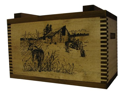 Evans Sports Standard Ammo Box, Barnyard Buck