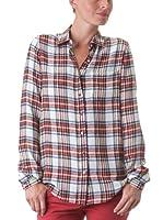 American Retro Camisa Tartan (Rojo / Crudo)