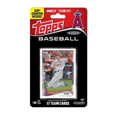MLB Los Angeles Angels 2014 Team Set Trading Card