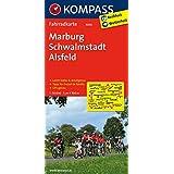 Marburg - Schwalmstadt - Alsfeld: Fahrradkarte. GPS-genau. 1:70000 (KOMPASS-Fahrradkarten Deutschland, Band 3066)