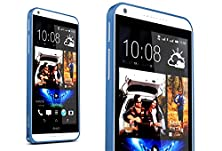 buy For Htc Desire 816 Case,[Gloryshop] Blue - Hippocampal Buckle Metal Bumper Protector Skin Cover Case For Htc Desire 816