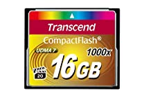 Transcend Information 1000x Compact Flash Card, Various Sizes