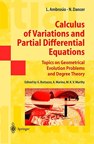 calculus-of-variations-and-partial-differential-equations-topics-on-geometrical-evolution-problems-a