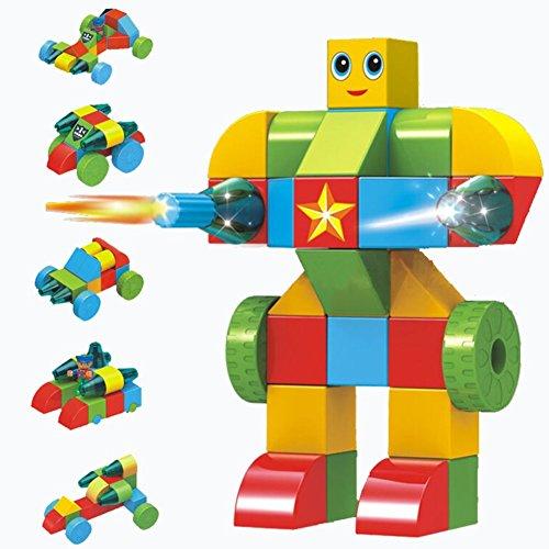 BlueEagle-Magnetic-Building-Blocks-Kids-Toys-Set-66-Pcs