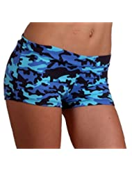 Margarita Blue Camo Shorts