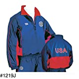 USSF Navy Official Warm-Up Jacket