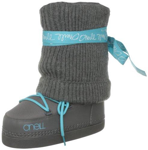 O'Neill Women's Meribel Charcoal Grey Snow Boot 159704 9 UK