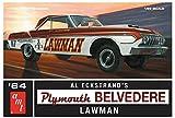 AMT986 1/25 1964 プリムス ベルベディア ロウマン スーパーストック