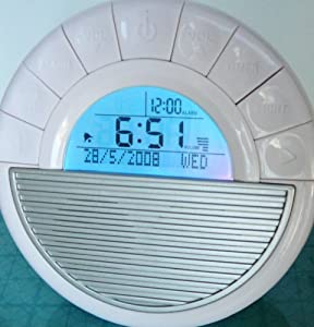 Noise Machine Sound Machine Alarm Clock 12 Soothing Sounds Spa
