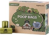 Pogis Poop Bags - 30 Rolls (450 Bags) - Large, Earth-Friendly, Scented, Leak-Proof Pet Waste Bags