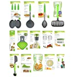 Jokari Healthy Steps Portion Control Diet / Weight Loss 20pc Utensil Kitchen Tool Set
