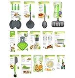 Jokari Healthy Steps Portion Control Diet / Weight Loss 20pc Utensil Kitchen Tool Set