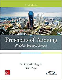 Principles Of Auditing & Other Assurance Services (Newest Edition)