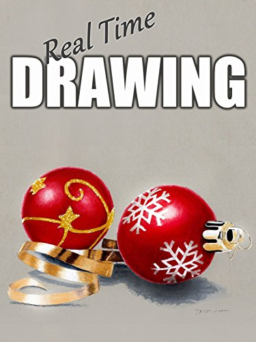 Real Time Drawing: Christmas Tree Decorations