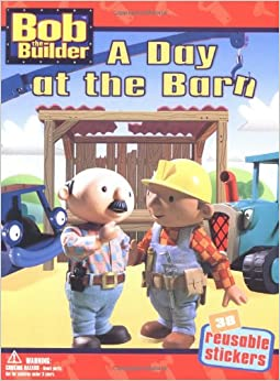 a day at the barn bob the builder vinyl sticker amazon