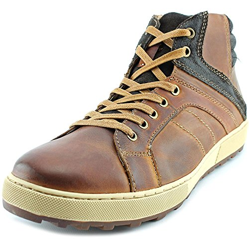 Steve Madden Caler Men Round Toe Leather Sneakers